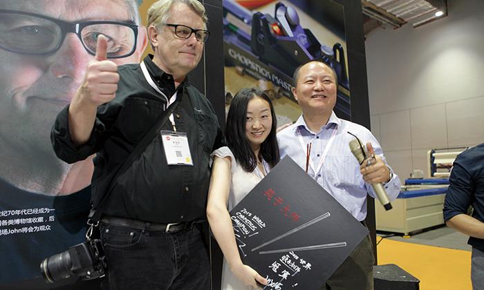 2015 Chopstick Olymipics Winner
