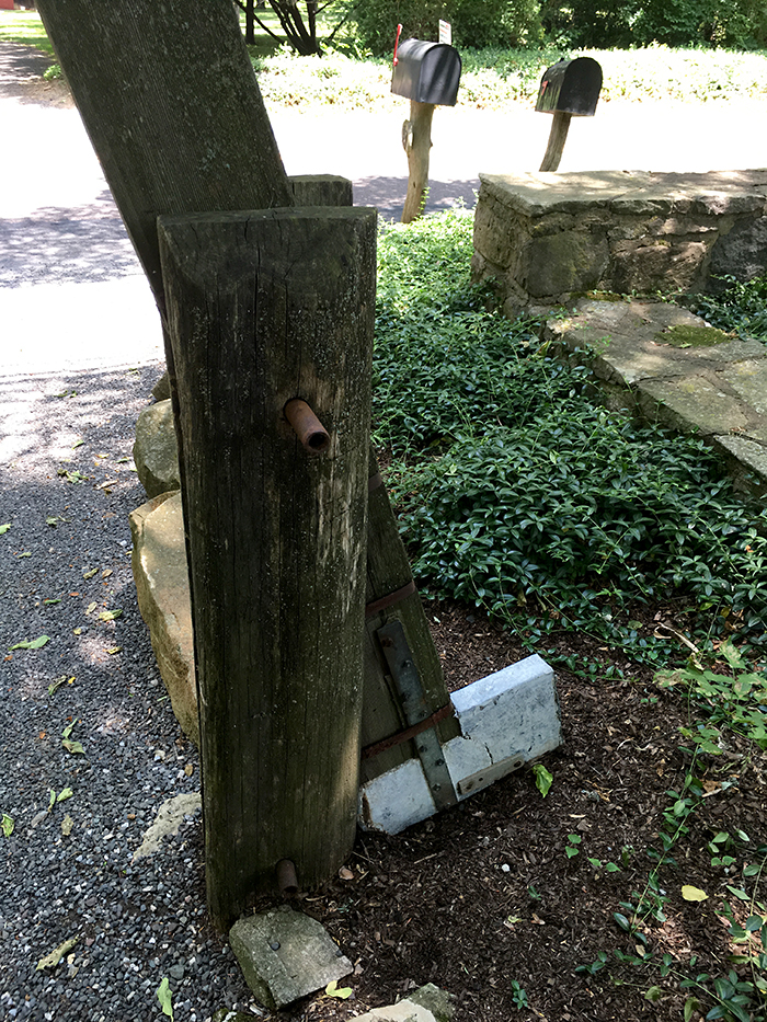 gate counterweight