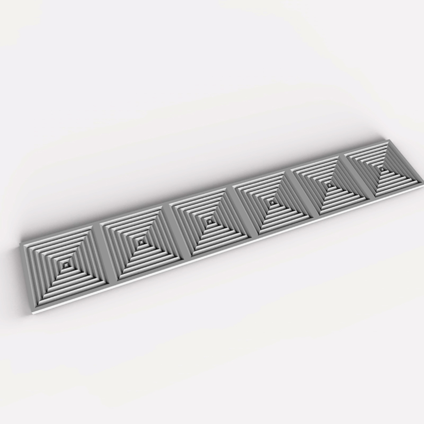 V Groove Tile Array 700